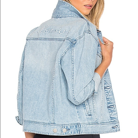 Revolve By The Way Heartbreaker Denim Jacket